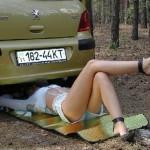 Советы для женщины за рулем.