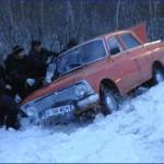 Зимняя дорога полна неожиданностей