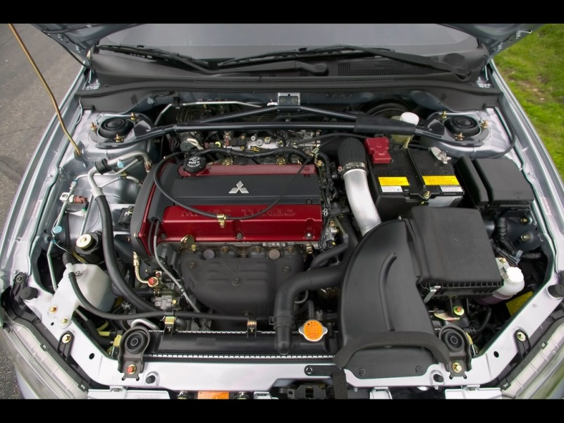 2006-Mitsubishi-Lancer-Evolution-IX-MR-Engine