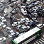 Пробки на дорогах-реалии дня
